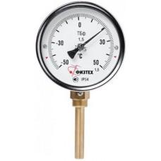 Термометр биметаллический ТБф-120 d.63