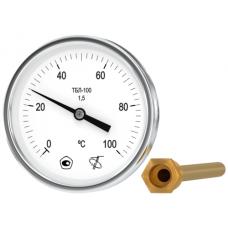 Термометр биметаллический ТБЛ-100