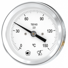 Термометр биметаллический ТБЛ-63