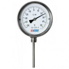Термометр коррозионностойкий ТБ-100-4