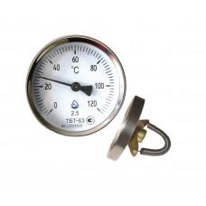 Термометр трубный ТБТ-63